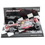 ☆ ミニチャンプス 1/43 ボーダフォン マクラーレン メルセデス MP4/23 2008 F1 ブラジルGP #22 L.ハミルトン