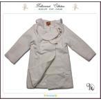 Pコート クリーム1 子供服 フォーマルに映えるフリル襟英国テイストのAライン(JPBt) 優雅な気品で魅せる 100-125cm