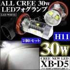 LEDフォグランプ H11/30w ホワイト