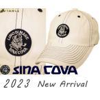 シナコバ新作  ゴルフ 2020秋冬新作 ちょい悪 大きいサイズ ドギーキャップ sina cova  メンズ 10077700-110 フリーサイズ