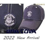 シナコバ新作  ゴルフ 2021春夏新作 ちょい悪 大きいサイズ ドギーキャップ sina cova  メンズ 10077700-290 フリーサイズ
