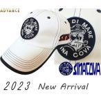 シナコバ新作  ゴルフ 2020秋冬新作 ちょい悪 大きいサイズ ドギーキャップ sina cova  メンズ 10077710-110 フリーサイズ