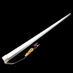12V LEDバーライト ワニグチクリップ付 120cm キャンピングカー 屋外ライト アウトドア照明 水槽 爬虫類等ライト
