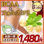 【BCAA & フォルスコリ】360粒 6ヶ月分 美容 サプリ 健康 ダイエット ポイント消化 タブレット 送料無料