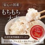 ( 国産もちもち大麦:3kg ) ごはん 国産 大容量 もち麦 ダイエット 健康 米 食物繊維 送料無料 ギフト