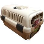 イオンペット限定 犬 キャリー ケース ハード コンテナ 移動 車 キャンピングキャリー ホワイト 白 M 小型犬(AP)