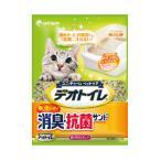 猫 デオトイレ 猫砂 飛び散らない 消臭・抗菌サンド 4L ユニチャーム