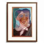 フアン・グリス Juan Gris 「Femme a l'echarpe (woman with neck scarf), 1924」
