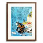 歌川国芳 Utagawa Kuniyoshi 「自画像 「枕辺深閏梅下巻口絵より」