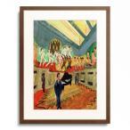 エルンスト・ルートヴィヒ・キルヒナー Ernst Ludwig Kirchner 「Design for the walls of the podium in the ballroom in the Museum Folkwang」
