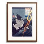 歌川国芳 Utagawa Kuniyoshi 「百人一首之内 崇徳院」