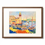 アンドレ・ドラン Andre Derain 「Schiffe im Hafen (Collioure).」