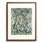 ジャクソン・ポロック Jackson Pollock 「Dancers in the night (green). 1944.」