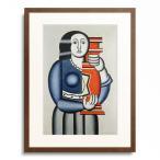 フェルナン・レジェ Fernand Leger 「Woman with a vase. 1924/27」