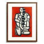 フェルナン・レジェ Fernand Leger 「Two figures (Nudes on a red background). 1923」