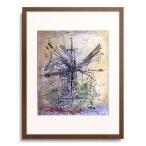 ヴォルス Wols (Alfred Otto Wolfgang Schulze) 「The windmill (Le moulin a vent). 1951」