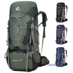 アウトドアバッグ 登山用バッグ メンズ アウトドアリュック 大容量 75L バックパック ザック バッグ 旅行 撥水 父の日 プレゼント