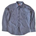 カムコ シャンブレー ワーク シャツ 長袖 ブラック Camco L/S Chambray Work Shirts