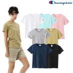 チャンピオン レディース ポケット付き 無地 Tシャツ CW-M321 即納 (メール便送料無料) Champion Poket Tee