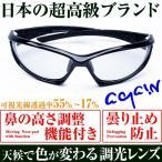 2万2000円→60%OFF  AGAIN調光サングラス 調光レンズ 日本TOP級ブランドDNAメーカー共同開発 釣り ゴルフetcスポーツ・アウトドア スポーツ