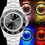 90%OFF【訳あり:箱なし】49,800円→90%OFF/COGU ITALY腕時計 ナイトフラッシュ/ウォッチ LED発光男女兼用/メンズ・レディース/腕時計