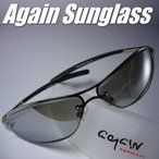 ショッピングサングラス イタリーデザインAGAINサングラス/サングラス メンズ UV 100% カット/サングラス スクエア