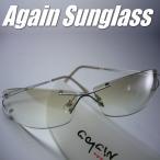 イタリーデザインAGAINサングラス/サングラス メンズ UV 100% カット/ライトカラー サングラス メンズ