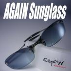 イタリーデザインAGAINサングラス/サングラス メンズ UV 100% カット