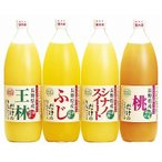 りんご村からのおくりもの りんごジュースセット MK-4 (内祝い お返し ギフトセット 香典返し お供え 等 )