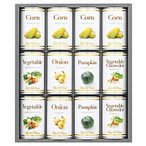 ホテルニューオータニ スープ缶詰セット AOR-50 送料無料 送料込 (内祝い お返し ギフトセット 香典返し お供え 等 )