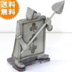 送料無料 トランプ兵士 ( かまえ ) オーナメント ( 不思議の国のアリス 絵本 オブジェ 置物 置き物 SR-0733 )