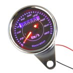 LED汎用ミニスピードメーター180km機械式ゴリラ,エイプ,汎用