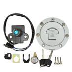 NSR250R/SE,MC18,MC21,MC28 タンクキャップ メインキー セット
