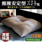 パイプ枕 パイプ ストロー まくら 枕 頸椎 頸椎安定型 43x63cm