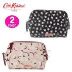 キャスキッドソン  メイクアップ ポーチ 709729 709798 Stamp Floral 立体 Make Up Bag 化粧ポーチ Cath Kidston ag-935000