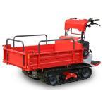 筑水キャニコム クローラー運搬車 BH41MTD (セルなし) (300〜400キロ積載) (箱型三方開き) (手動ダンプ)