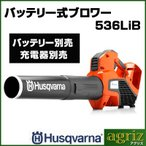 ハスクバーナ バッテリー式ブロワー 536LiB