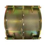 【カルイ】 粉砕機オプション KDC1300/KDC1301用 細目 (5mm) スクリーン 【竹紛】【粉状粉砕】