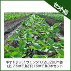 住化農業資材 ネオドリップ ウエシタ 02L 200m巻 (上)7.5cm千鳥(下)15cm千鳥 3本セット 潅水チューブ 灌水チューブ