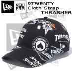 帽子 キャップ cap メンズ レディース ユニセックス ニューエラ NEW ERA 9TWENTY Cloth Strap スラッシャー THRASHER