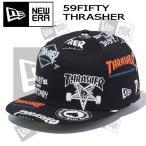 帽子 キャップ cap メンズ レディース ユニセックス ニューエラ NEW ERA 59FIFTY スラッシャー THRASHER