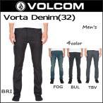 VOLCOM ボルコム ジーンズ デニム メンズ ボトムス ストレートパンツ スリムパンツ Vorta Denim オープン記念