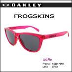 ショッピングOAKLEY オークリー サングラス フロッグスキン FLOGSKIN USフィット ACID PINK