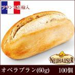 冷凍パン 生地 半焼成 オペラブラン (60g x 100個) 業務用 フランス直輸入 NEUHAUSER/ノイハウザー [送料無料]