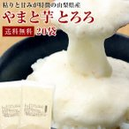 【送料無料】冷凍 大和芋 田舎とろろ プレーンタイプ[20袋入]