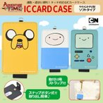 送料無料 ポイント10倍 アドベンチャー・タイム ICカード 定期入れ パスケース アドベンチャータイム ADT-04