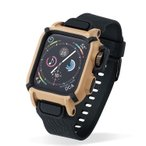 Apple Watch Series 4 44mm バンドケース カーキ アウトドア レジャー  カバー ベルト タフ 保護ケース 耐衝撃 NESTOUT アップルウォッチ4 AW-44BCNESTKH