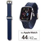 Apple Watch Series4 44mm Series3/2/1 42mm シリコンバンド ブルー シンプル おしゃれ かっこいい 青 AW-44BDSCIBU