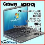 中古ノートパソコン Gateway ゲートウェイ MX6212j