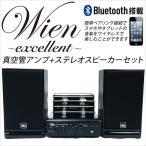 最新型Bluetooth搭載 真空管アンプ 真空管プリメインアンプ&スピーカーセット ハイブリッドアンプ アナログサウンド###アンプステレオ2060###